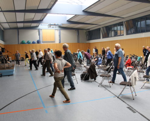 Keep Moving | Taiji-Therapie - Parkinson Symposium in Berlin · Bewegung bei Parkinson