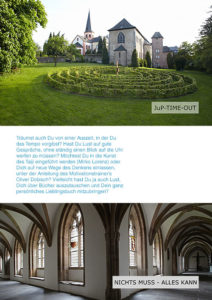 Keep Moving   Jup-Time-Out im Kloster Steinfeld 2019
