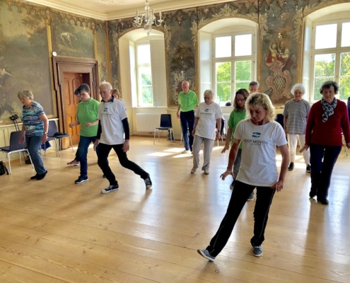 Keep Moving | Taiji-Therapie im Kloster Huysburg 2019