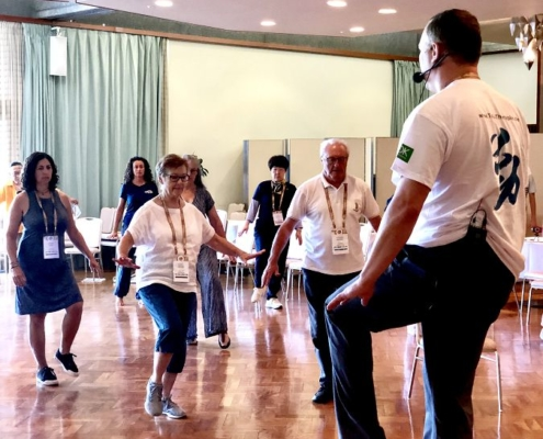 Keep Moving | Taiji-Therapie - Welt Parkinson Kongress 2019 in Kyoto