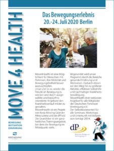 Keep Moving | Taiji-Therapie bei Bewegungsstörungen und Parkinson · MOVE 4 HEALTH (Ankündigung)