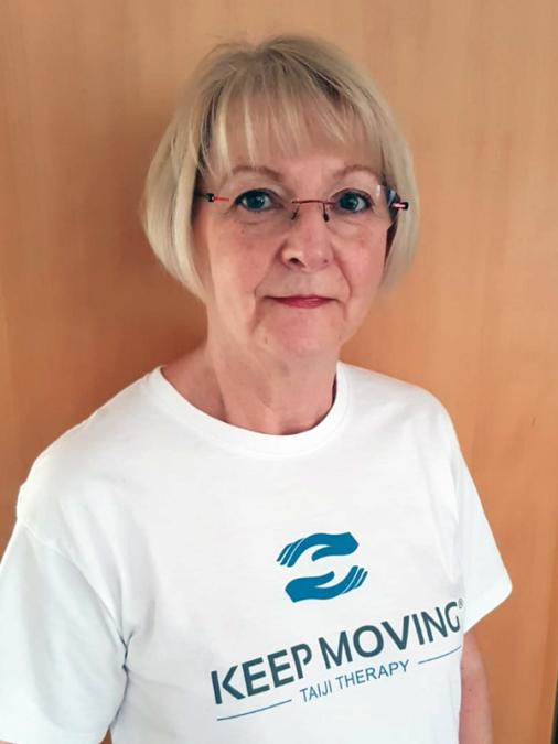 Keep Moving | Taiji-Therapie bei Bewegungsstörungen und Parkinson | Lizenzierte Trainer · Monika Kesch